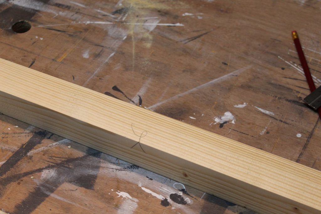 face side face edge hout